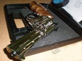 Flobertka Alfa 641 nikl, dřevo kal.6mm