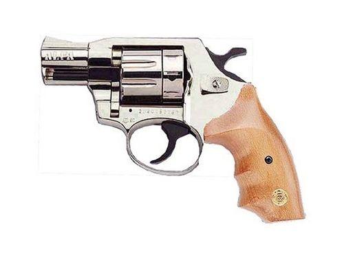 Flobertka Alfa 620 nikl, dřevo kal.6mm