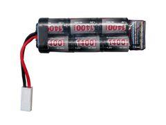 Airsoft baterie 8,4v 1400 mAh, mini-U, NiMH ASG