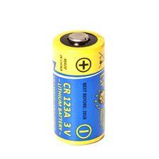 Baterie lithiová CR 123 A - 3 V