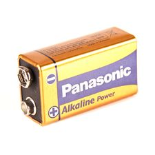 Baterie Panasonic 9V typu 6LR61