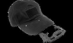 Čepice Gotcha s obranným prvkem černá
