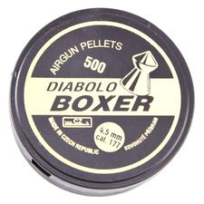 Diabolo Boxer, 500 ks, kal. 4.5 mm