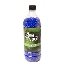 Kuličky BB 6mm Combat Zone 0,12g 5000 ks, modré
