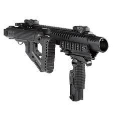 Karabinová konverze KPOS G2 Delta pro Glock 17, 18,19, 22, 23, Galil pažba