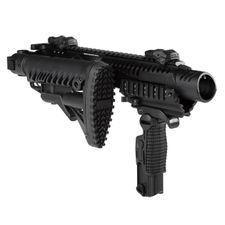 Karabinová konverze KPOS G2 pro Glock 17, 18,19, 22, 23, M4 pažba