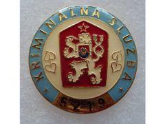 Odznak kriminální služby
