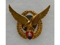 Odznak pilotní, zlatý