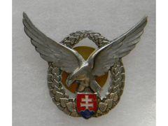 Odznak pilotní, stříbrný