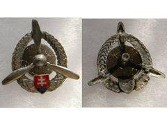 Odznak technického personálu letectví, stříbrný