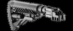 Pažba pevná pro AK 47 typ M16 s absorberem polymerová cerná SBT-K47FK