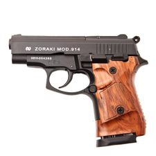 Plynová pistole Atak Zoraki 914 Auto černý, kal.9 mm, pažba dřevo