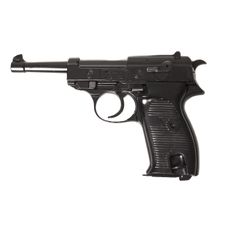 Plynová pistole Bruni P38 černá kal. 8 mm
