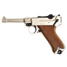 Plynová pistole Cuno Melcher P08 satén, kal.9mm
