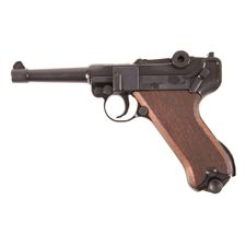 Plynová pistole Cuno Melcher P08 černá, kal.9mm