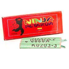 Pyrotechnika petarda Ninja 3x explo  (10 ks)