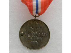 Slovenská medaile za zásluhy