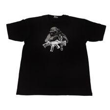 Tričko CZ Scorpion, barva černá XL