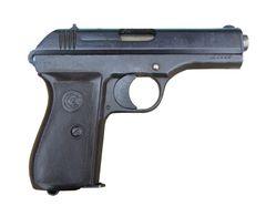 Znehodnocená pistole CZ 27