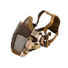 Airsoft maska Mesh metal Multi maskáč