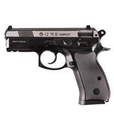 Airsoft pistole CZ 75 D DuoTone CO2 4,5 mm, černá