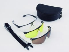 Balistické brýle Peltor, 3-souprava