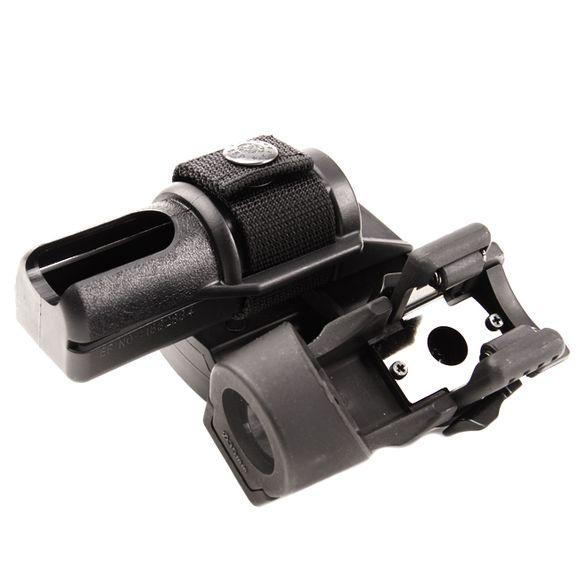 Plastové pouzdro pro obušek a svítilnu dvojité, rotačné BH-LHU-04