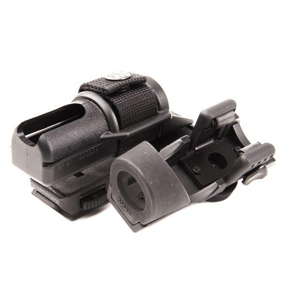 Plastové pouzdro pro obušek a svítilnu dvojité, rotačné BH-LHU-14