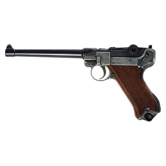 Plynová pistole Cuno Melcher P04 antik, kal.9 mm