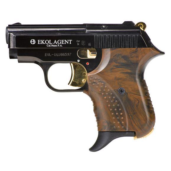 Plynová pištoľ Ekol Agent kombinace černá, kal. 9 mm
