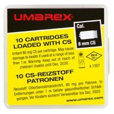Plynové náboje CS pistole Umarex 8 mm