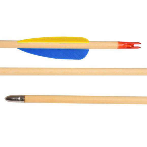 """Šíp dřevěný 28"""", terčový Ek Archery 1 ks"""