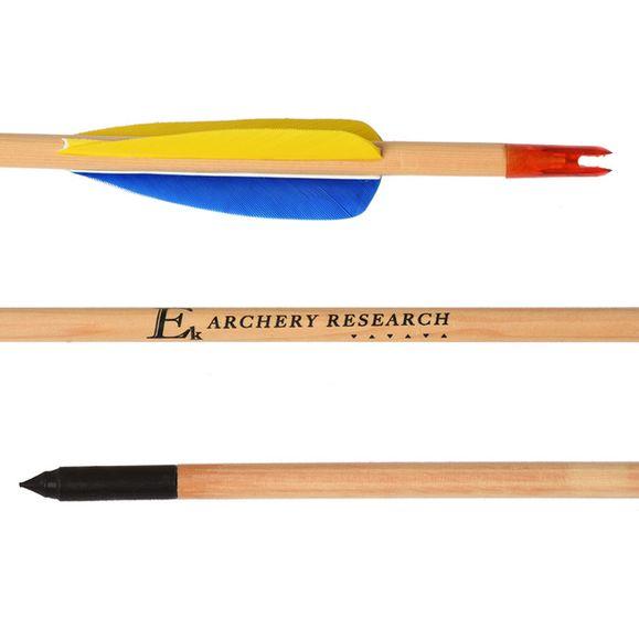 """Šíp dřevěný, lovecký 29 """"Ek Archery 1 ks"""