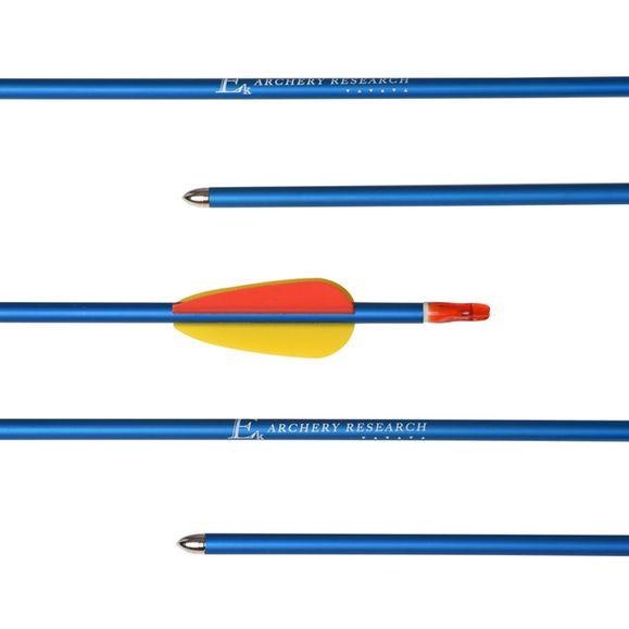 """Šíp duralový 29"""" terčový, modrý Ek Archery 1 ks"""