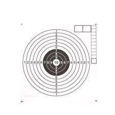 Terč vzduchovka 160P, bílý střed