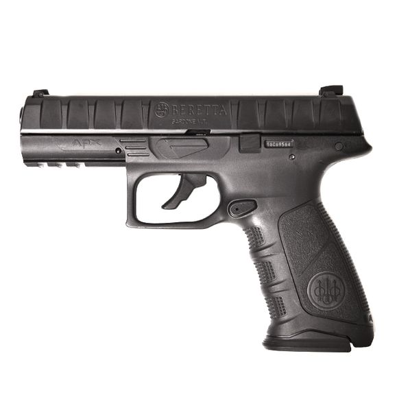 Vzduchová pistole Beretta APX černá, kal. 4,5 mm