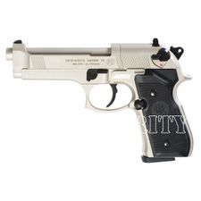Vzduchová pistole Umarex Beretta M92 FS nikl kal. 4,5 mm